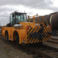locotracteur rail route B Track