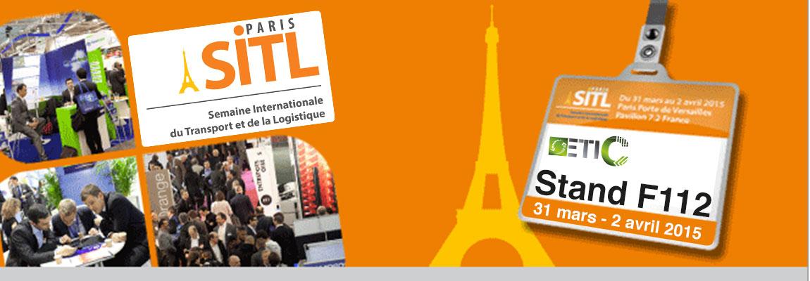 Etic vous attends sur son stand n°F112 au SITL 2015 à Paris