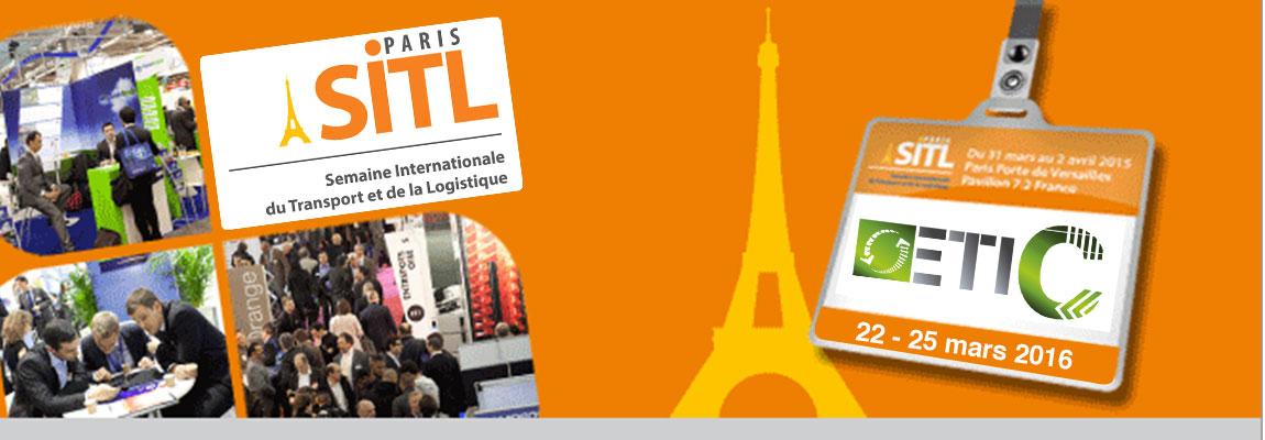 Retrouvez la société ETIC au Salon SITL du 22 au 25 mars 2016