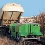 E-TRACK Rail route électrique à batterie