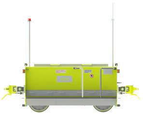 E-TRACK Rail route COMPACT électrique à batterie